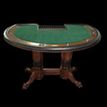 The Black Jack Card Table