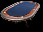 Mahogany Mini Texas Hold'em Poker Table