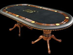 Mahogany Texas Hold'em Poker Table