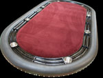 Oak Texas Hold'em Poker Table