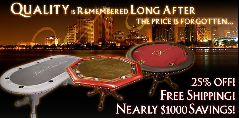 Stine Game Table, Custom Poker Tables, Custom Game Table, Stine Game Table,  Poker