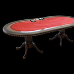 High Roller Texas Hold'em Poker Table